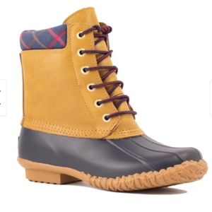 Cougar Storm Leather Rubber Roger Duck Boots 6